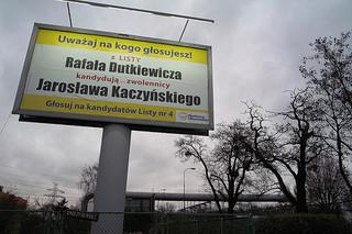 Dutkiewicz i zwolennicy Kaczyńskiego