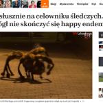 androny naTemat.pl o odpowiedzilaności Wardęgi za psa-pająka-mutanta