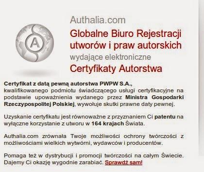 Authalia.com to dobry adres dla Damy z Łasiczką