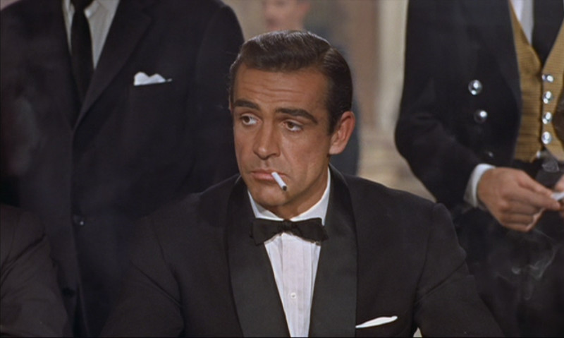 James Bond Sean Connery Dr No