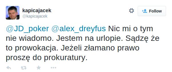 Jacek Kapica o włamywaniu sięMinisterstwa Finansów na serwery pokerzystów. Art. 267 kk a zwalczanie hazardu w internecie