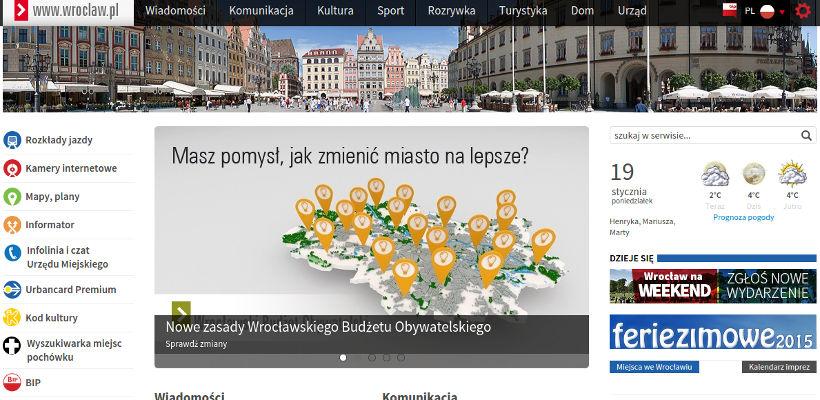 wroclaw.pl nowy portal Wrocławia