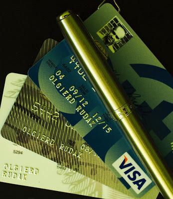 Radek Sikorski służbowa karta kredytowa