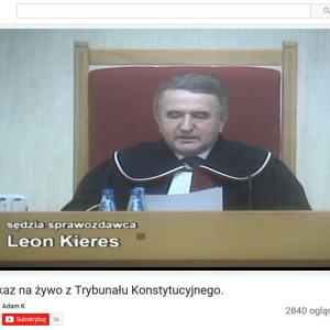 Wyrok trybunału Konstytucyjnego K 34/15
