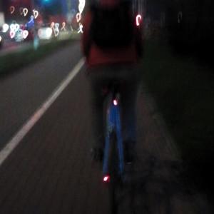 przyczynienie się rowerzysty do wypadku
