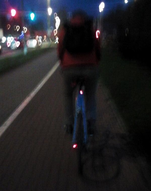 obowiązkowe oświetlenie roweru