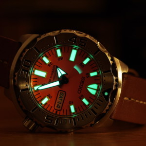 Seiko skx781 orange monster test