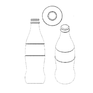 butelka coca-coli znak towarowy