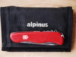 Dwóch żwawych młodzieńców: scyzoryk Victoronix Picknicker (l. 20) i portfel Alpinus (l. 13). Produkty innych czasów, chciałoby się rzec (fot. Olgierd Rudak, CC-BY-SA 3.0)