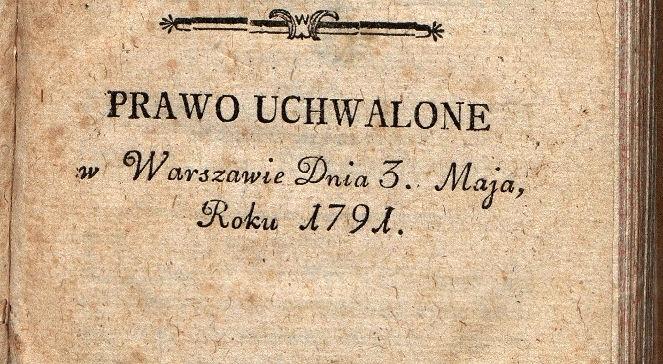 Konstytucja 3 Maja sasowie na tronie polskim