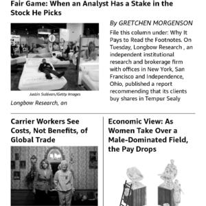 New York Times Kindle