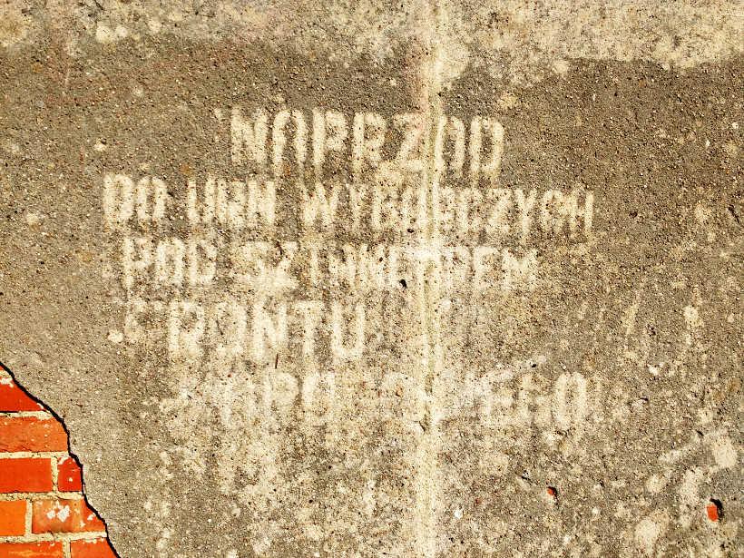 dekomunizacja nazw ulic