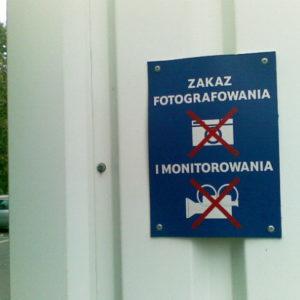 prywatny monitoring wizerunek prywatność