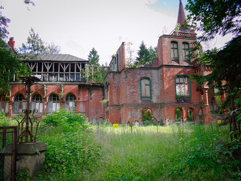 Sokołowsko ruiny sanatorium