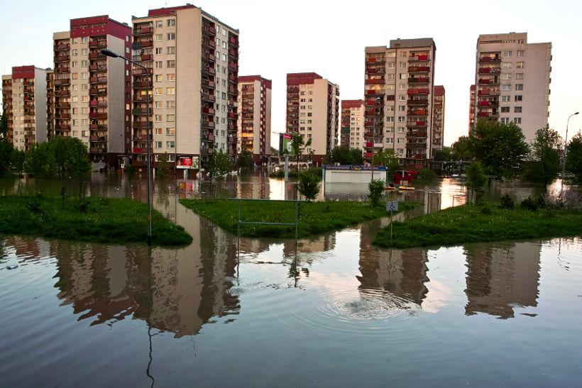 Powódź we Wrocławiu, Kozanów, 2010 r.