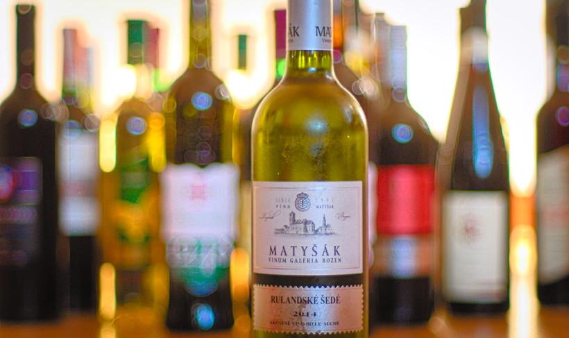 Wino Matyšák Rulandské šedé