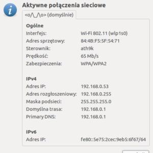 Zbieranie adres IP użytkownik blog dane osobowe