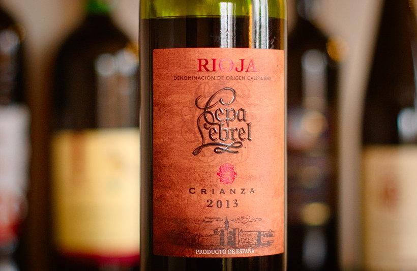 Rioja Cepa Lebrel Crianza lidl