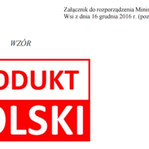 znak produkt polski