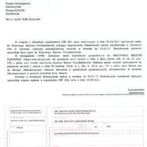 KRP Krajowy Rejestr Przedsiębiorstw