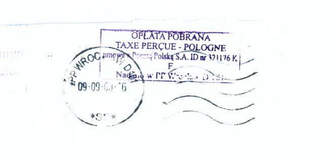 Doręczenie nakazu zapłaty nieprawidłowy adres