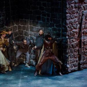 Trzej muszkieterowie Teatr Capitol