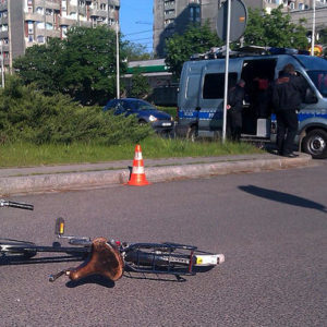 potrącenie rowerzysty odpowiedzialność karna
