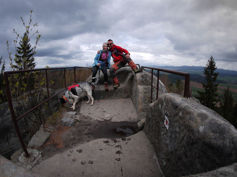 psem góry broumovske steny
