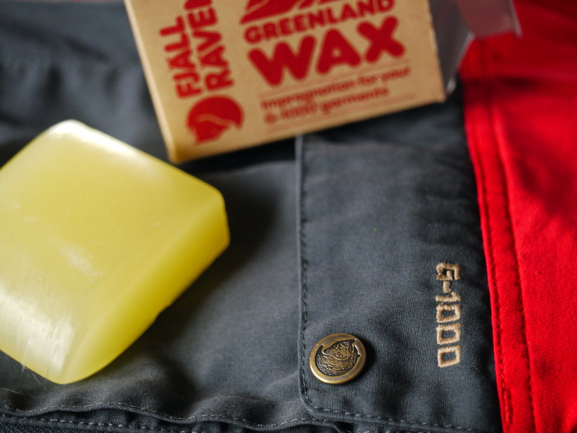 Fjällräven G-1000 wax