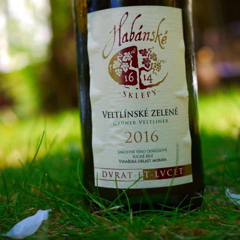 Wino Habánské Sklepy Veltlínské zelené