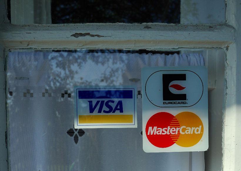obowiązkowa nalepka płatności kartą