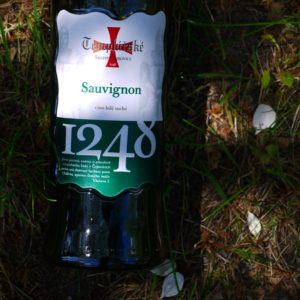 Wino Templářské sklepy Sauvignon 2016