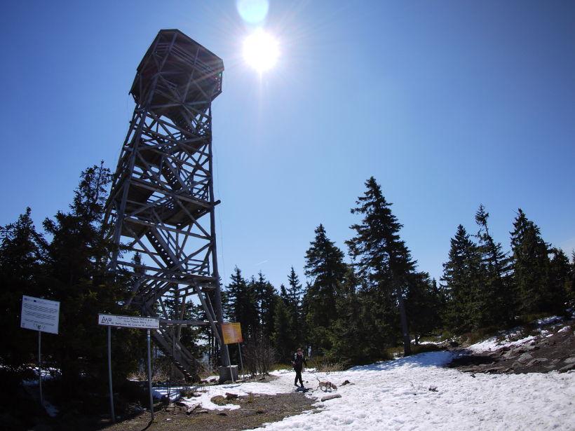 Trójmorski Wierch wieża