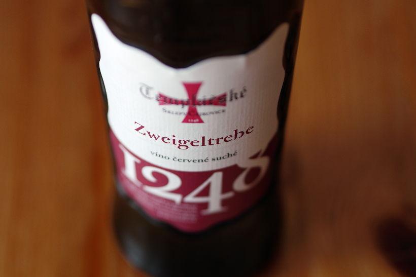 Wino Templářské sklepy Zweigeltrebe