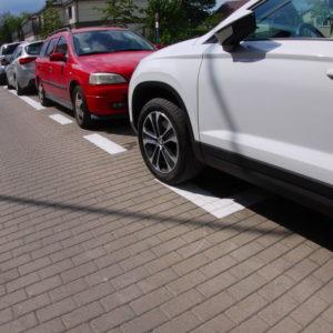 wymiary miejsca parkingowego