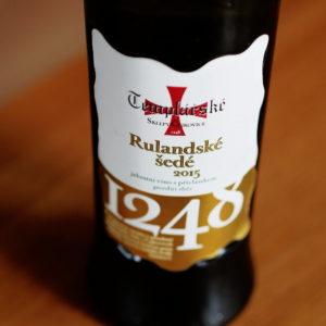 wino Templářské sklepy Rulandské šedé pozdní sběr