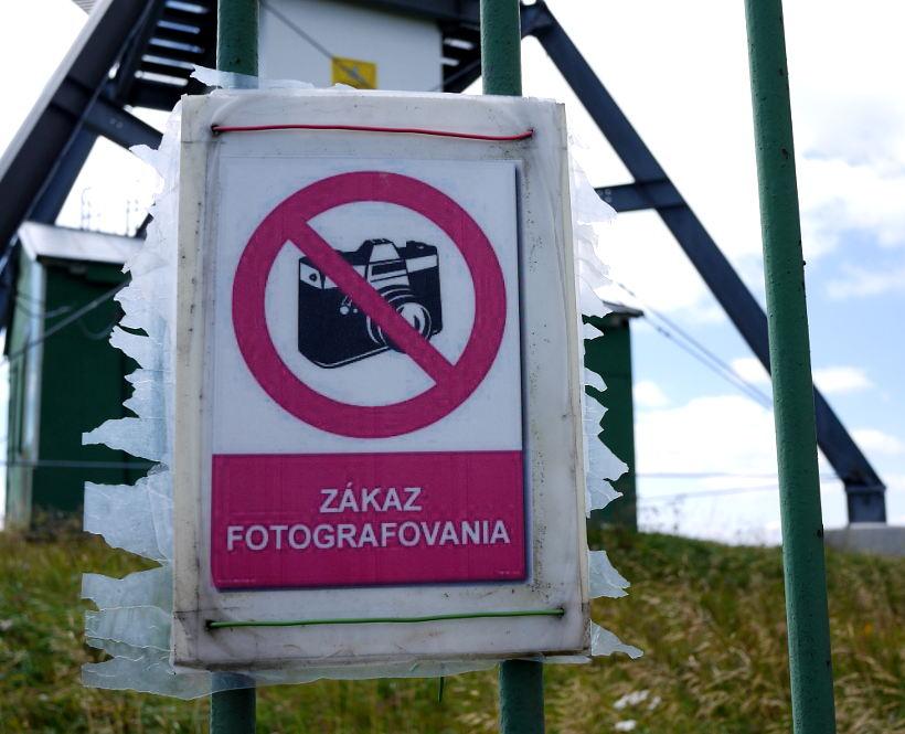 Zákaz fotografovania