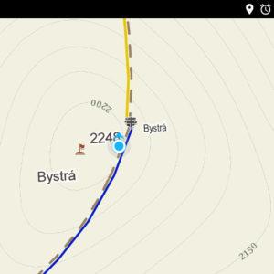 aplikacja mapy.cz test