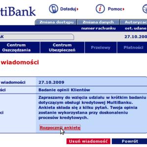 odpowiedzialność banku nieautoryzowane transakcje