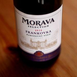 Zámecké vinařství Bzenec Morava selection Frankovka