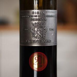 Burgo Viejo Rioja Reserva Licenciado 2010