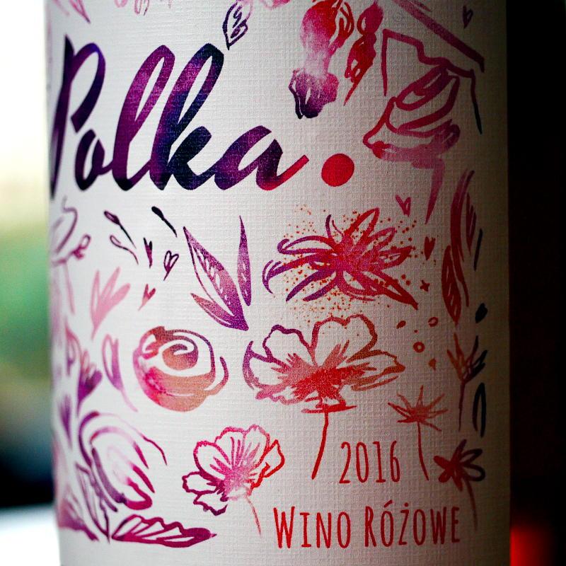 Różowe wino Polka 2016