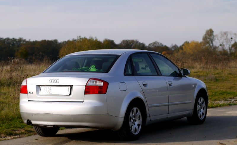 Audi A4 B6 test