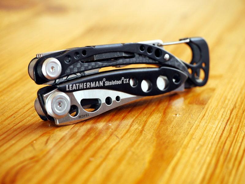 Leatherman Skeletool CX test