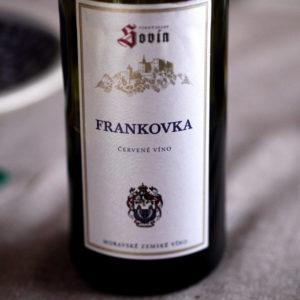 Vinný sklep Sovín Frankovka 2015