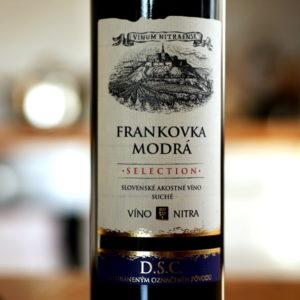 Vinum Nitraense Frankovka Modra Selection