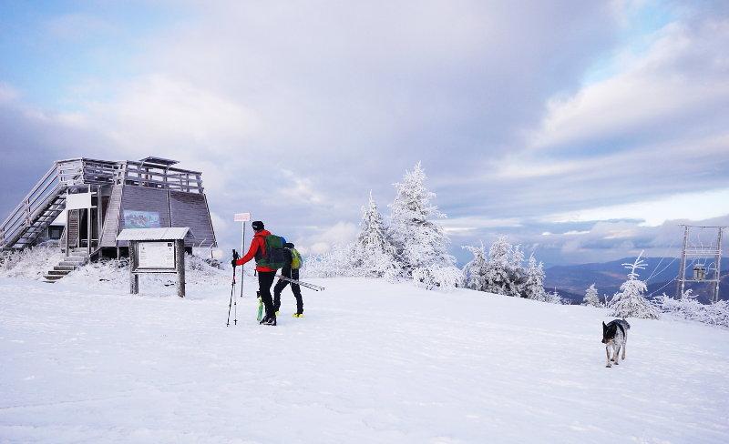 uprawianie turystyki narciarskiej Karkonoski Park Narodowy