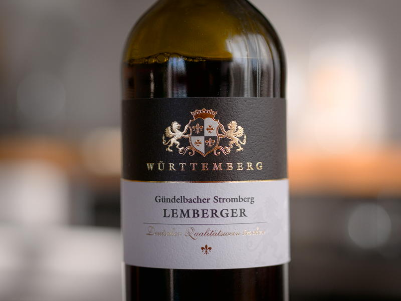 Gündelbacher Stromberg Lemberger wino lidl