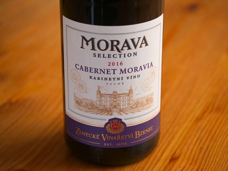 Zámecké vinařství Bzenec Cabernet Moravia 2016