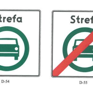 znak drogowy Strefa czystego transportu
